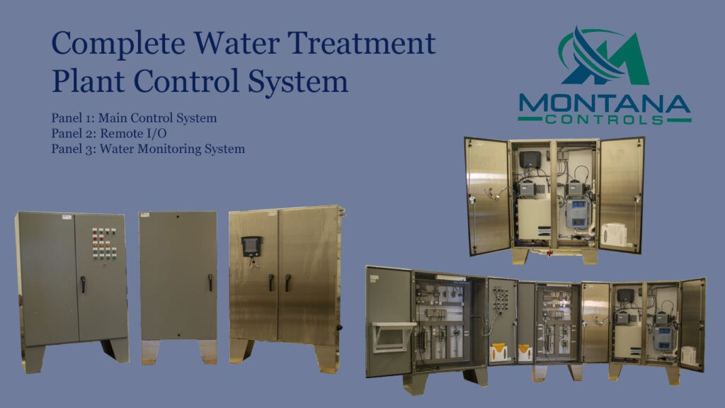 Complete Water Treatment Control System
